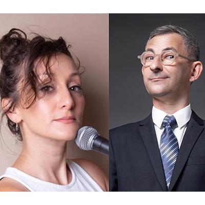 מופע סטנד אפ זוגי של הסטנדאפיסטים מרינה אקילוב ואלי גלפרין